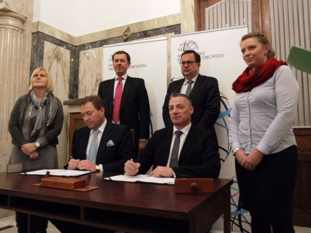 Lipská a pražská komoditní burza uzavřely partnerství, foto MPO