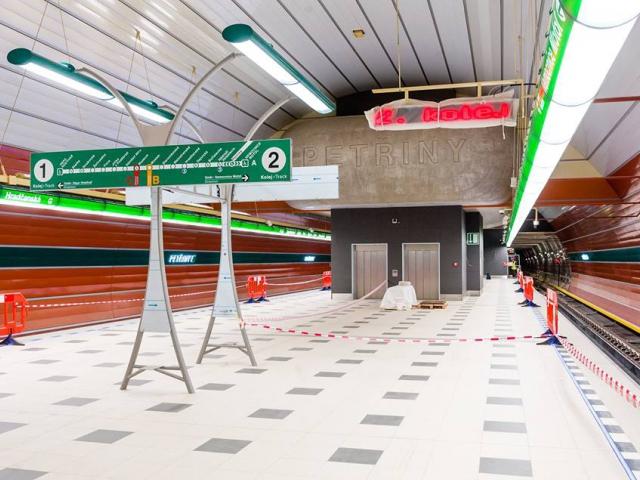 Metro Petřiny, ilustrační foto DPP