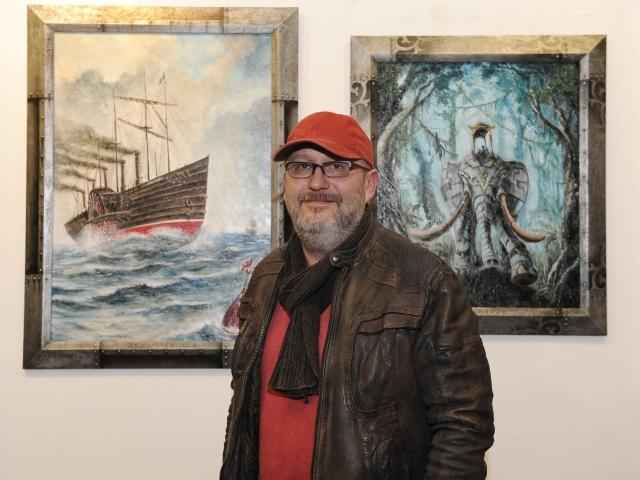 Výstava v Galerii 1 pro milovníky fantasy, sci-fi a dobrodružství, foto ÚMČ Praha 1