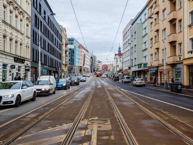 Urbanisté promění vysočanské Náměstí OSN. Zeptají se obyvatel. Foto IPR Praha
