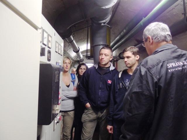 Podzemní bunkr Folimanka, foto ÚMČ Praha 2