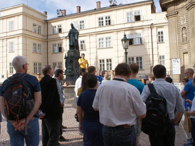 Asociace průvodců ČR vás zve na bezplatné prohlídky Prahy. Foto Praha Press