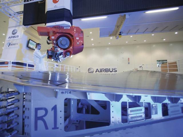 Aero se bude podílet na výrobě Airbusů A350, foto Airbus S.A.S.2016