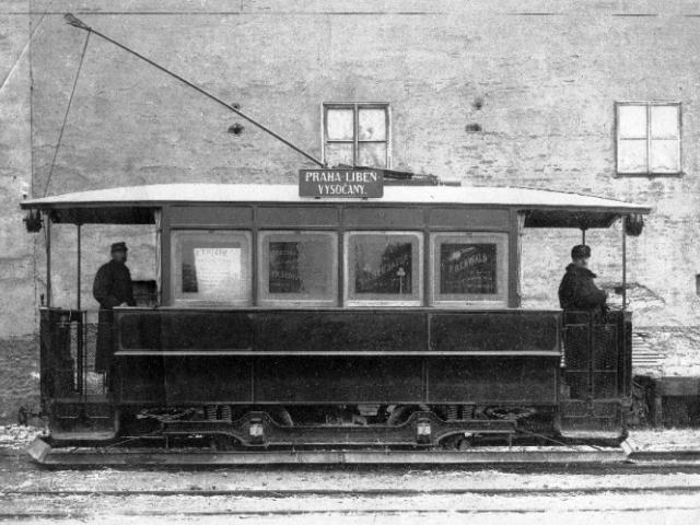 Historická tramvaj Praha-Libeň-Vysočany, foto ÚMČ Praha 8