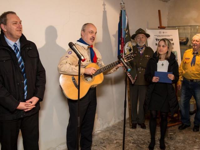Nová výstava v Senátu mapuje tramping a skauting, foto Senát PČR