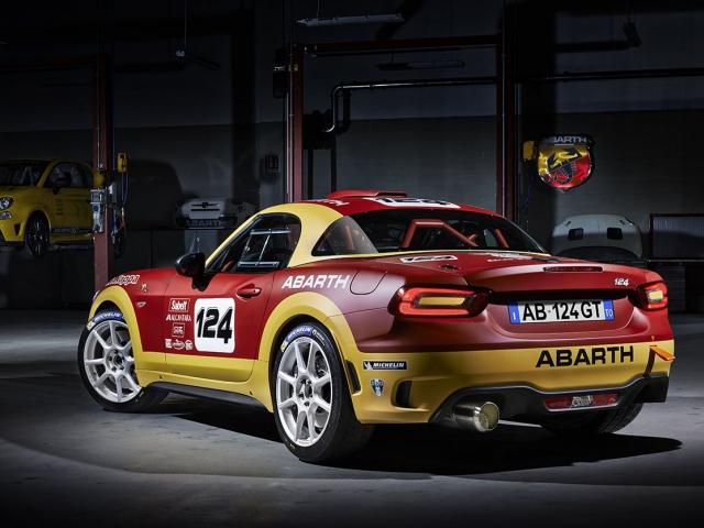 Nový Abarth 124 rally, foto Fiat Chrysler Automobiles N.V.