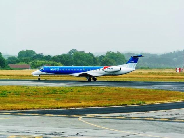 Pravidelná letecká linka Brno - Mnichov zahájila provoz koncem loňského roku, foto BMI Regional