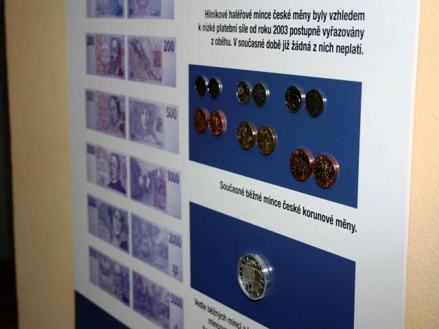 Poslanecká sněmovna hostí výstavu Tisíciletá tradice české měny, foto PSP České republiky