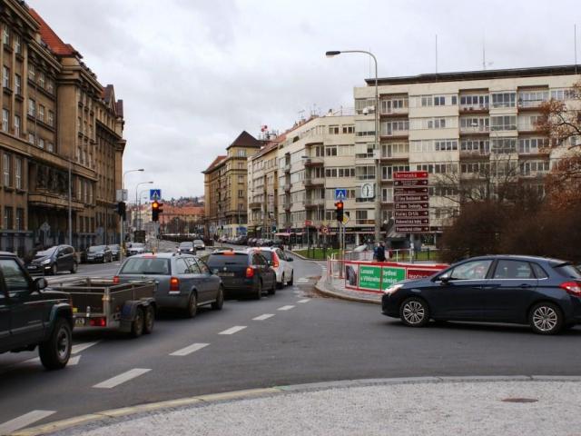 Urbanisticko-dopravní soutěž na řešení Vítězného náměstí bude. Foto Praha Press