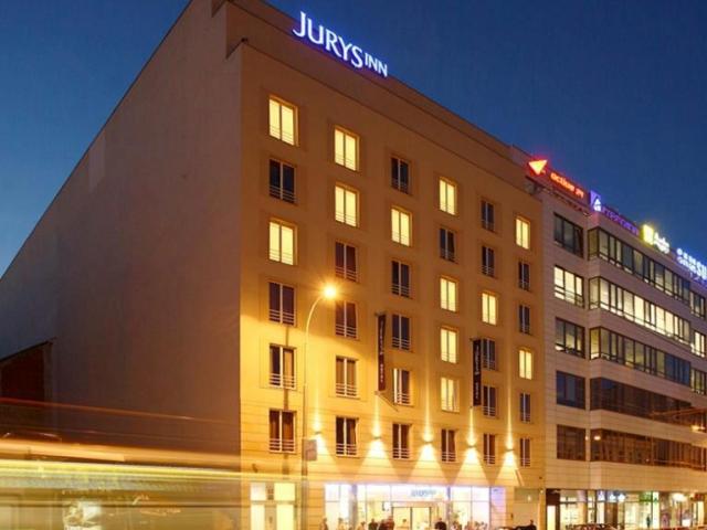 Hotel Jurys Inn v Praze, foto Cushman & Wakefield