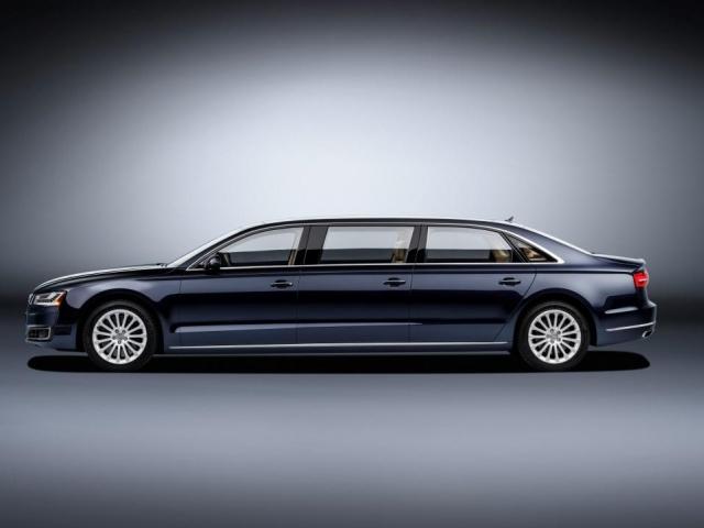 Limuzína pro splnění snů o komfortu: Audi A8 L extended. Foto Audi