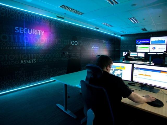Společnost O2 IT Services má nové centrum kybernetické bezpečnosti. Foto O2