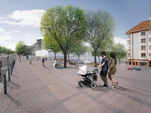 Budoucí Bělohorská zkrásní a bude mít přátelštější atmosféru. Foto IPR Praha