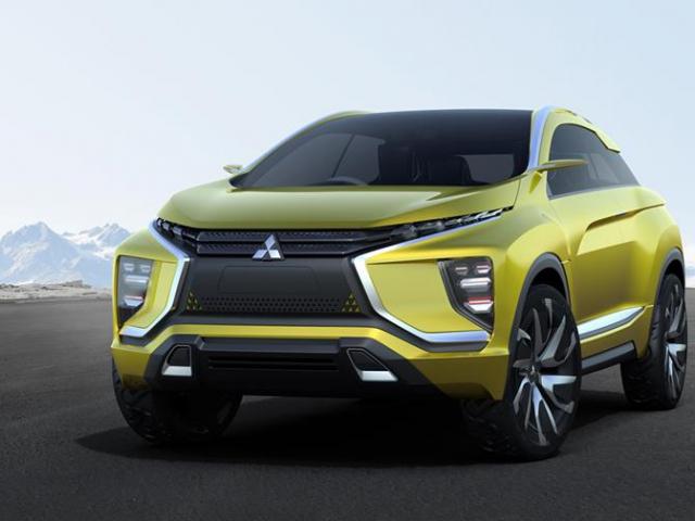 MITSUBISHI eX Concept - Kompaktní crossover s elektrickým pohonem. Foto MMC