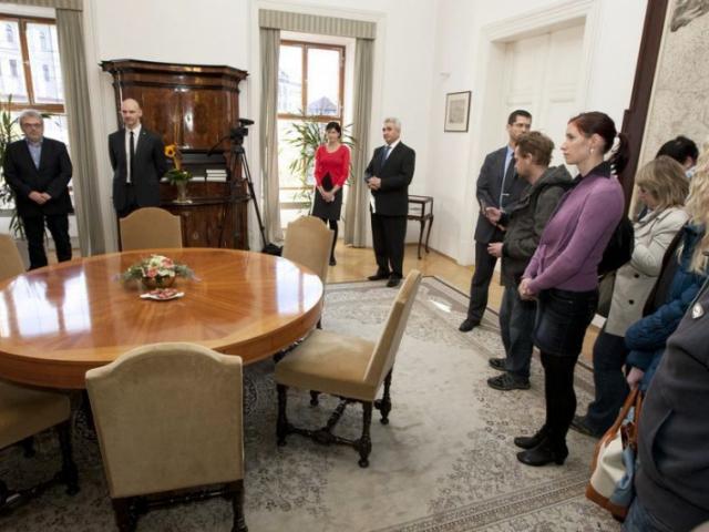 Den otevřených dveří v Poslanecké sněmovně. Foto Poslanecká sněmovna