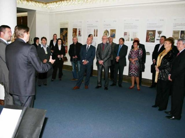 V Poslanecké sněmovně probíhá výstava o životní pouti císaře Karla IV., foto Parlament České republiky