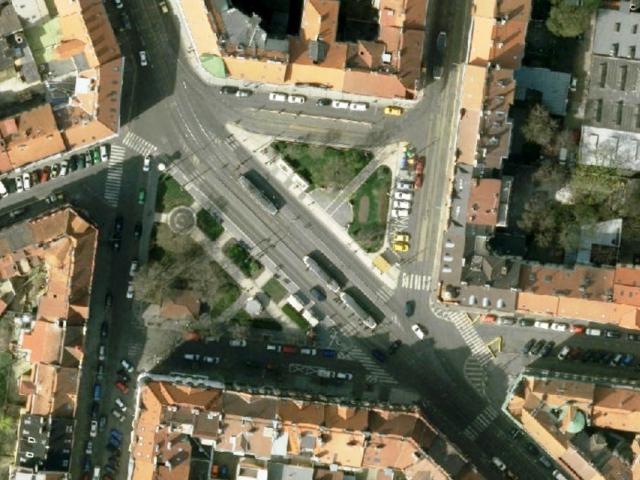 Zapojte se do urbanistické hry o budoucnosti náměstí Bratří Synků. Foto IPR Praha