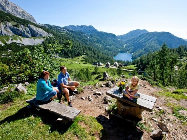 Rodinná dovolená u jezera Steiersee, © TVB Ausseerland-Salzkammergut/Tom Lamm