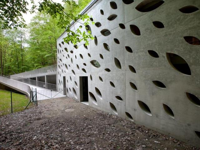 Vstupní budova areálu Punkevních jeskyní získala ocenění, foto Českomoravský beton, a. s.