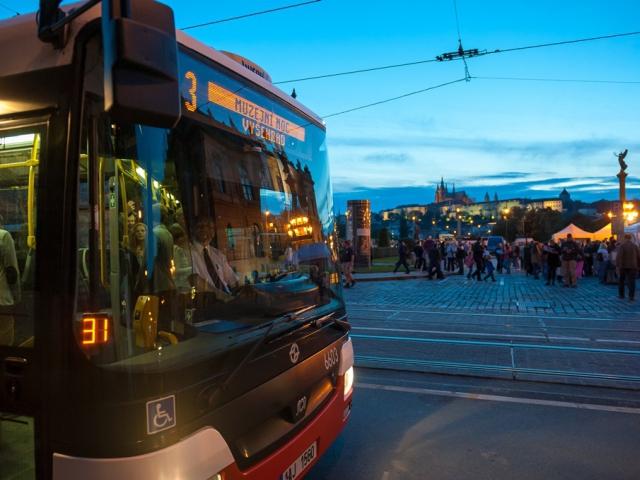 Zdarma pražskou dopravou na Pražskou muzejní noc, foto DPP