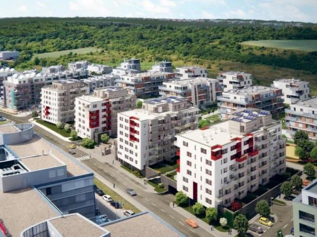 Začal prodej bydlení posledního bytového domu v rezidenční čtvrti Botanica, foto Skanska