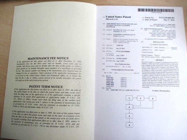 Univerzita Tomáše Bati získala patent v USA, foto Univerzita Tomáše Bati