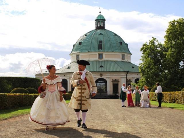 Navštivte festival Hortus Magicus v kroměřížské Květné zahradě, foto Arcibiskupský zámek a zahrady v Kroměříži