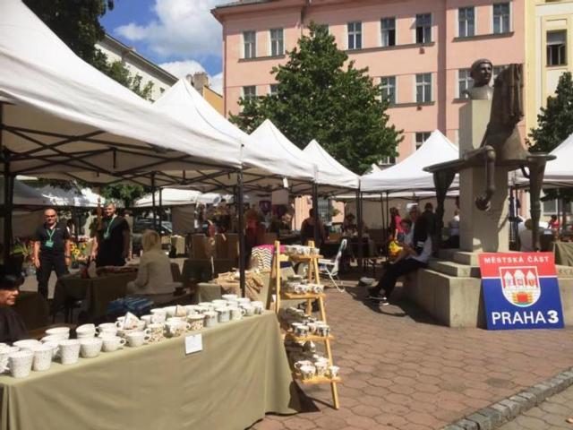Žižkovské trhy překvapí novou atmosférou, foto ÚMČ Praha 3