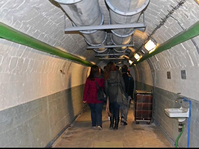 Zdarma si můžete prohlédnout bunkr Folimanka a jeho labyrint, foto ÚMČ Praha 2