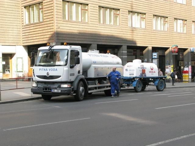 V části Prahy bude téměř sedmnáct tisíc odběratelů bez vody, foto PVK
