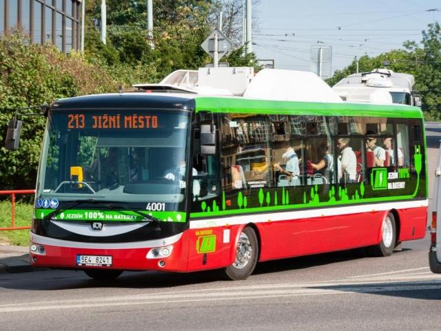 Elektrobus má za sebou úspěšný rok provozu, foto DPP