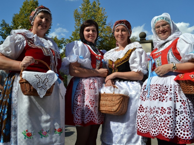 Vinobraní v Královské zahradě Pražského hradu letos pojedenácté. Foto Správa Pražského hradu