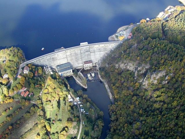Dva roky potrvá rekonstrukce Vranovské přehrady, foto Povodí Moravy, s. p.