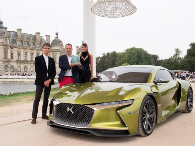 DS E-TENSE je nejkrásnějším vozem soutěže Chantilly Arts & Élégance Richard Mille. Foto Citroën