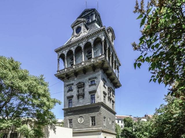 Startuje rekonstrukce vodárenské věže na Letné, foto Petr Hájek – ARCHITEKTI
