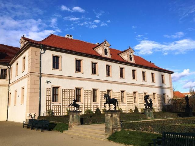 Skončila rozsáhlá oprava Valdštejnského paláce, foto Senát PČR