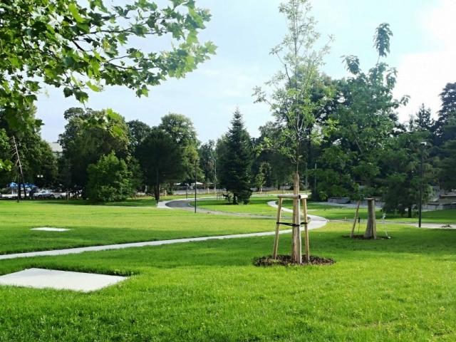 Park Komenského ve Zlíně získal cenění Park desetiletí, foto PSG-International a. s.