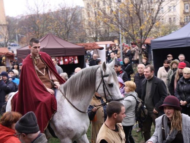 Svátek svatého Martina patří k jednomu z nejoblíbenějších v roce. Foto ÚMČ Praha 3