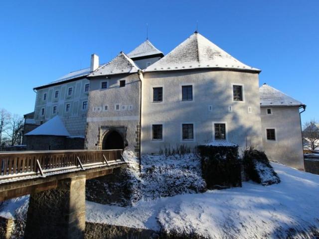 Nové Hrady v zimě, foto NPÚ
