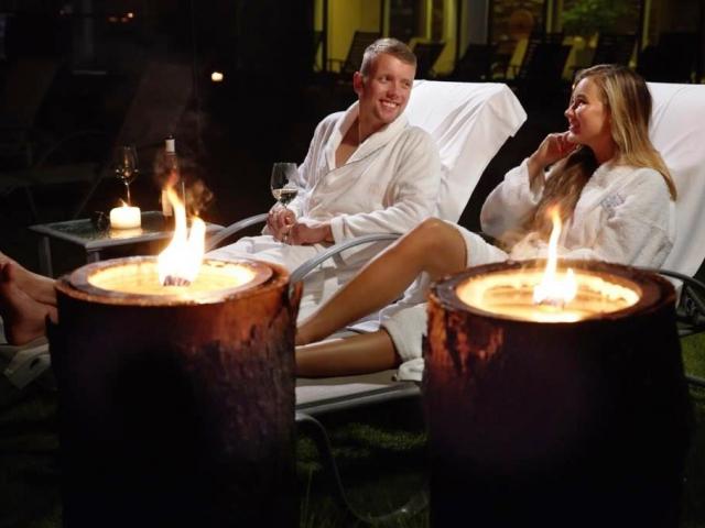 Wellness Horal chystá Silvestrovskou saunovou noc. Foto Resort Valachy