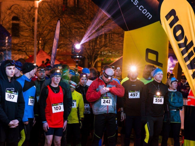 Zažijte neobvyklou atmosféru nočního běhu vánoční Prahou. Foto EVENT media s.r.o.