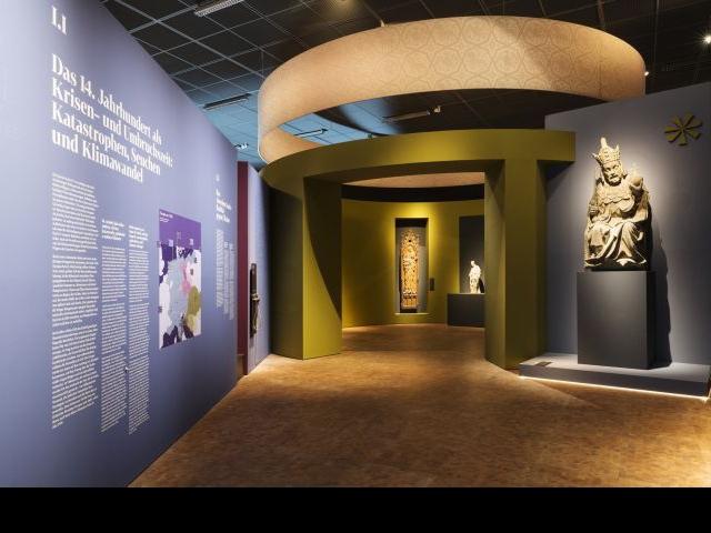 Česko-bavorská zemská výstava Karel IV. se přesunula do Norimberku. Foto: Studio Messberger, Nürnberg
