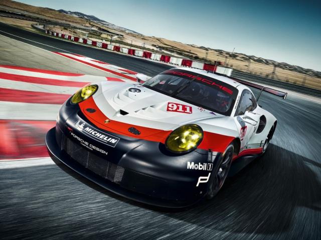 Nové Porsche 911 RSR pro Le Mans, foto Porsche Inter Auto CZ spol. s r.o.