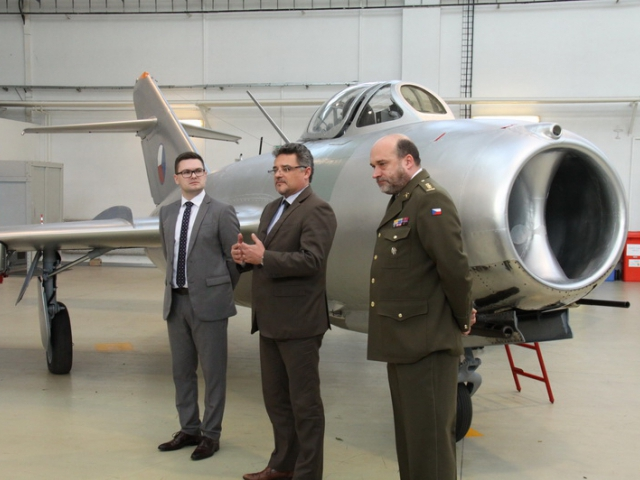 Unikátní MiG-15 je po renovaci, foto VHÚ