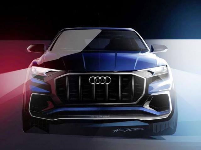 Audi Q8 concept oslaví premiéru v Detroitu, foto Audi