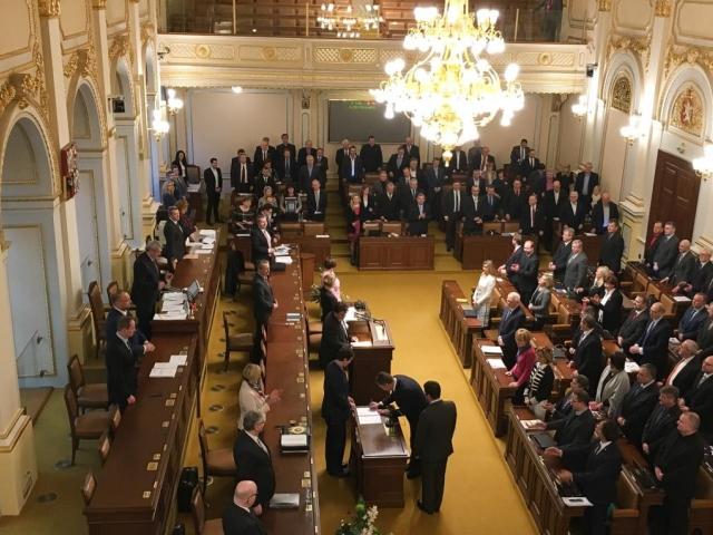Byla zahájena 54. schůze Poslanecké sněmovny, foto Parlament České republiky, Poslanecká sněmovna