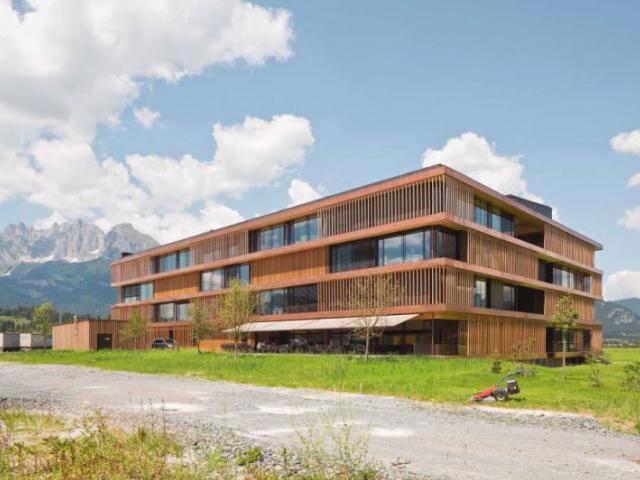 Firemní sídlo společnosti Egger. Foto Architekturwerkstatt
