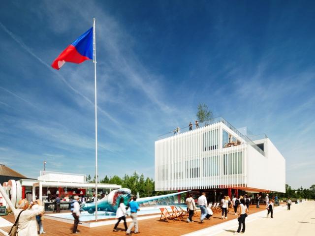 Model českého pavilonu z EXPO 2015 v Miláně obohatí sbírky Národního technického muzea. Foto NTM