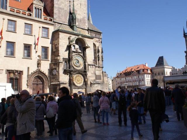 Staroměstská radnice patří k nejoblíbenějším památkám v Praze. Foto Praha Press