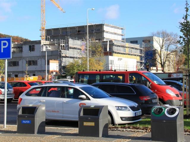 V Radotíně přibudou nová zanořená stanoviště pro tříděný odpad, foto ÚMČ Praha 16